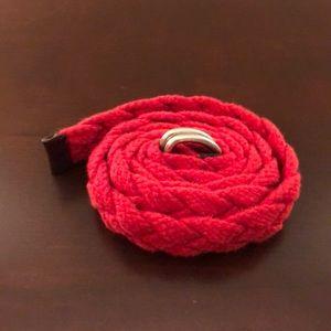 J. Crew fabric belt